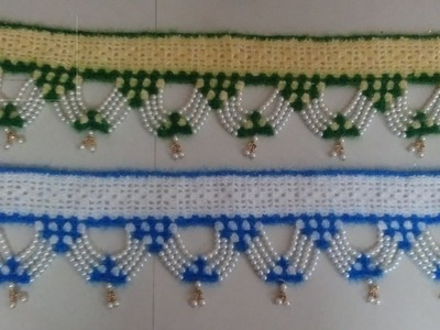 Crochet Doorhanging (Toran)