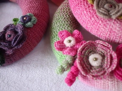 Crochet Floral Wreath Video Tutorial