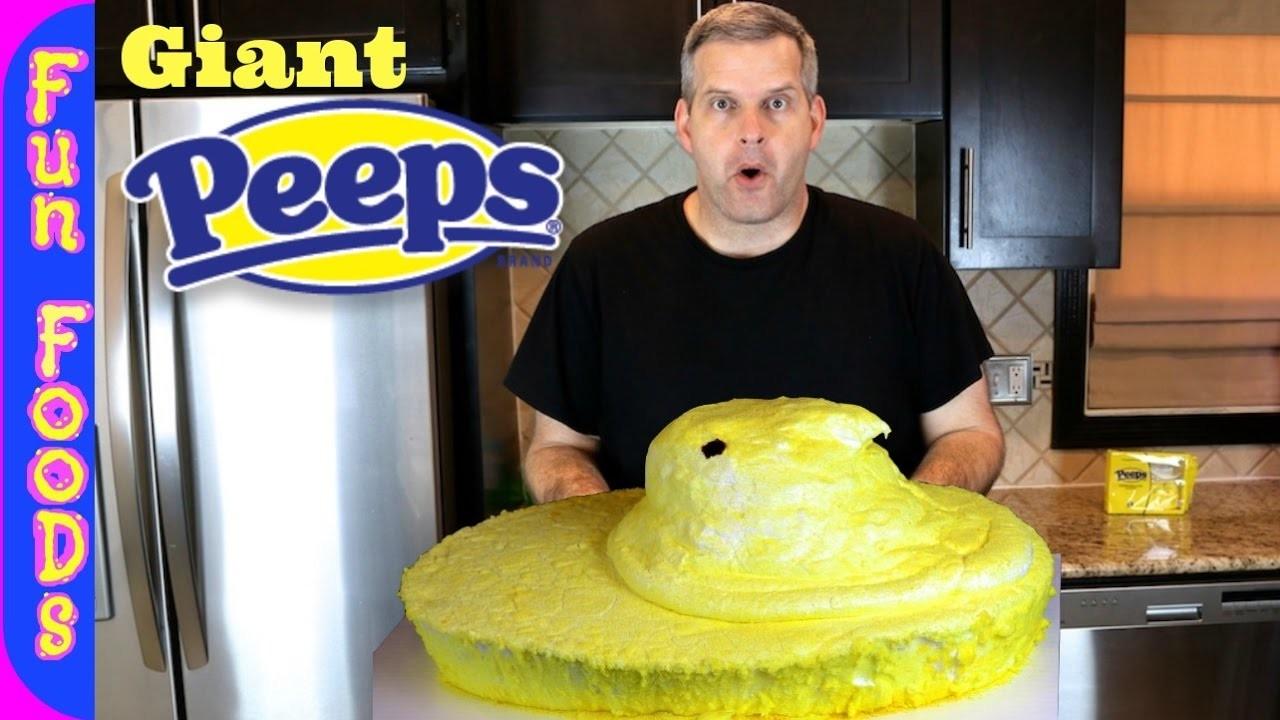 Giant Peep | How to Make a Giant Marshmallow Peep
