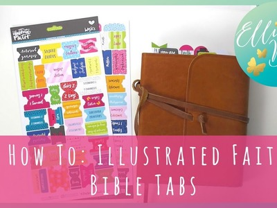 How To: Adding Illustrated Faith Bible Tabs