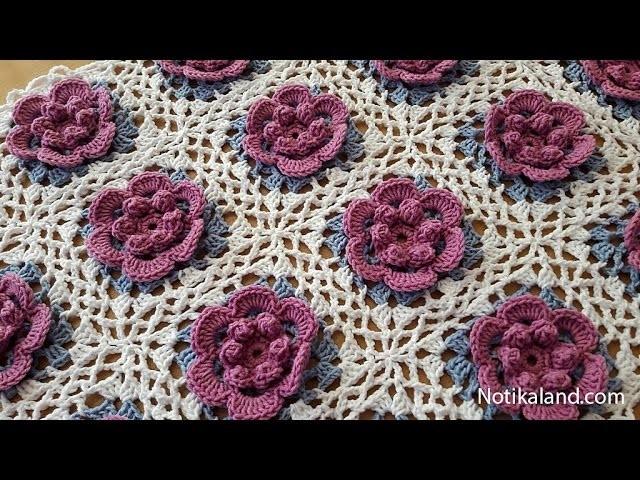 Easy Beginner Crochet Baby Blanket Tutorial : How to crochet a baby blanket for beginners Part 4 VERY ...