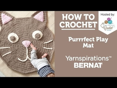 How to Crochet a Rug: Purrrrfect Cat Play Rug