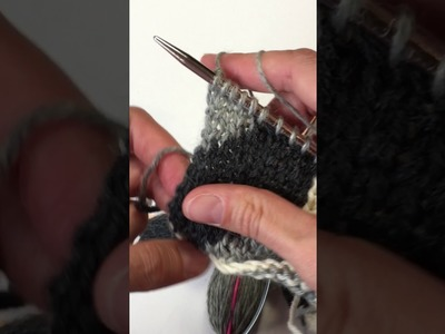 How to knit from left to right