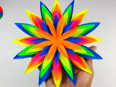 How To Make a Beautiful Paper Flower at Home