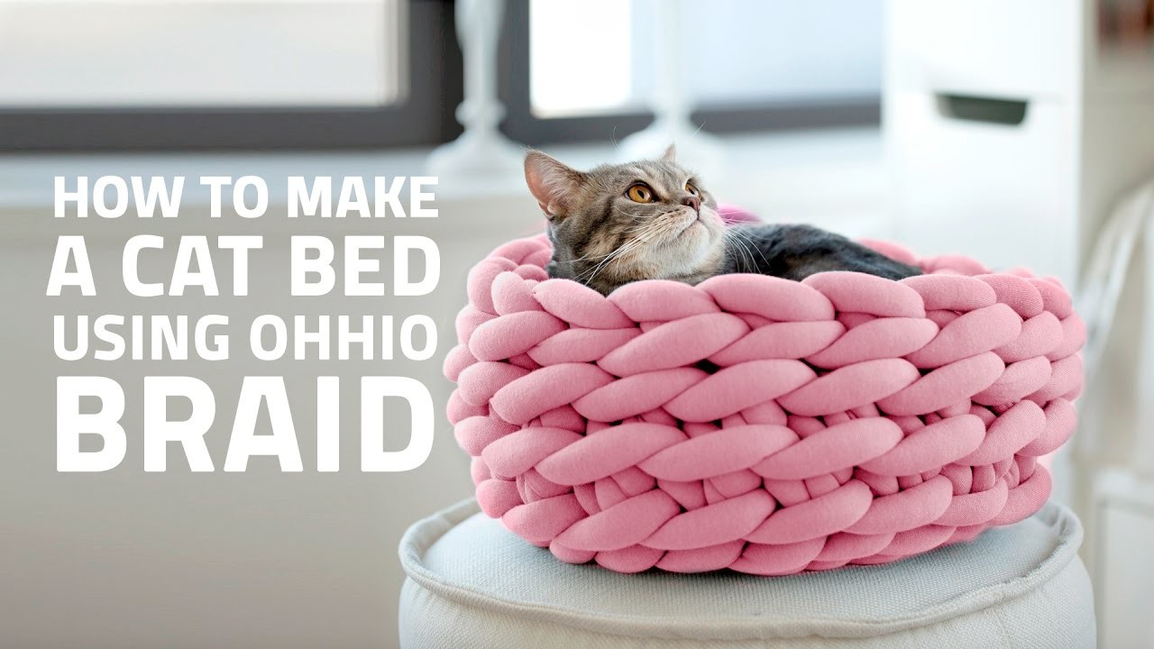 Make A Chunky Wool Cat Bed