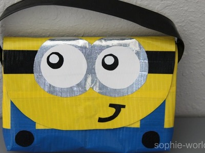 How to Make a Duct Tape Minion Bag | Sophie's World