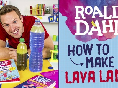 How to make a lava lamp | Science with Greg Foot and George's Marvellous Medicine