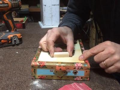 How to make a Saddle for a Cigar Box Guitar