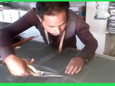 How to Make and Cutting Blazer tutorial Bangla-Blazer Pattern Marking and Cutting