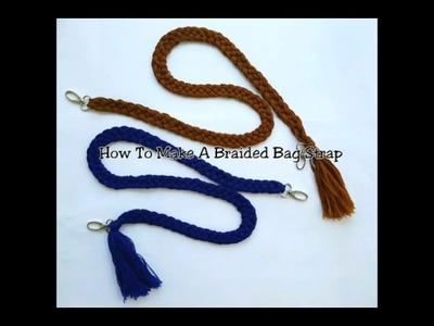 How To Make Braided Bag Strap (Cara Membuat Tali Tas Kepang)
