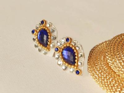 How to Make Earrings for Beautyful Aged  Women | latest Earrings models | Zooltv