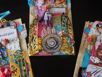 How to Make Layered Journal Tags & Pocket Pages using Spellbinder Dies