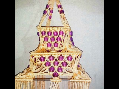 How to Make Macrame Jhummar Slide Show