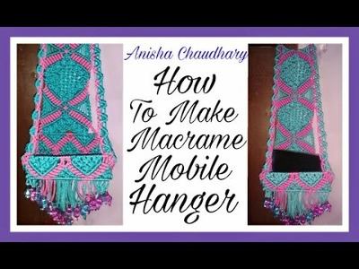 How To Make Mobile Hanger