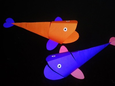 How to Make Moving Fish With Paper