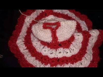 How to make woolen poshak for laddu gopal ji, two colours woolen poshak for laddu gopal ji- part 2