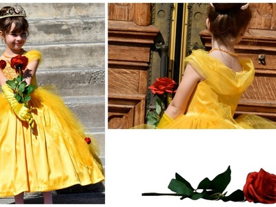 How to sew a Beauty and the Beast Belle costume