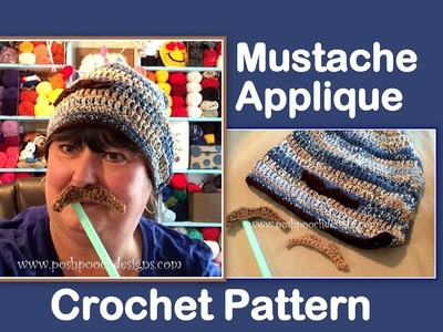 How How To Crochet A Moustache Left Handed How To Crochet A