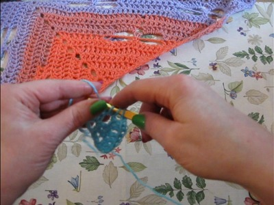 Pine Notes ~ How to Crochet The 3 Tail Dragonfly Motif for scarf or shawl