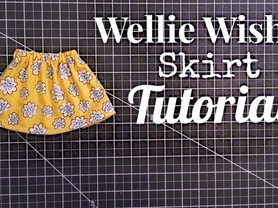 Sew with me | How To Sew A Wellie Wisher Skirt
