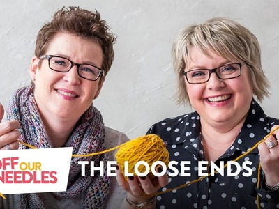 Striped Socks, Celebrities & Menopause (For Knitters Only)    Off Our Needles LOOSE ENDS