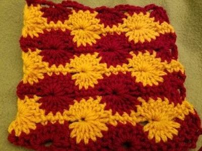 The Catherine Wheel - Crochet Stitch Tutorial