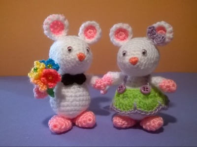 Topolini Uncinetto - Amigurumi Tutorial - Crochet Mouse Pattern