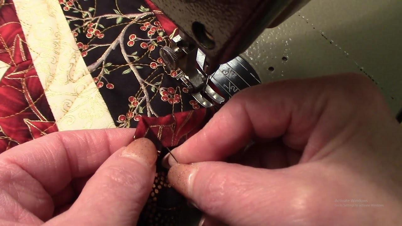 Binding Method   How to Bind Corners with Larger Angles