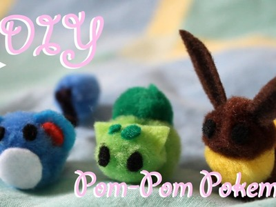 "❤ DIY Pom-Pom Pokemon! How To Make ""Pokepoms"" For Easter!  ❤"