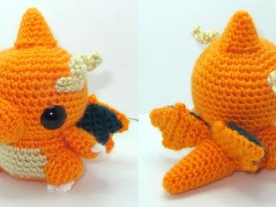 Dragonite Amigurumi Crochet Tutorial