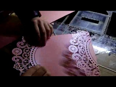 How cut greeting Invitation wedding paper up cards with 420*240mm just 15 seconds .