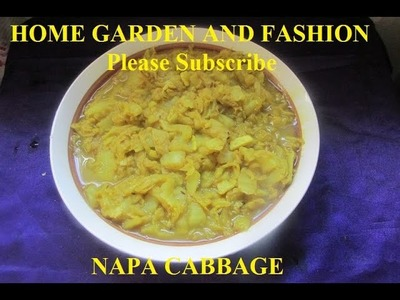 HOW TO COOK NAPA CABBAGE: SIMPLE AND YUMMY!