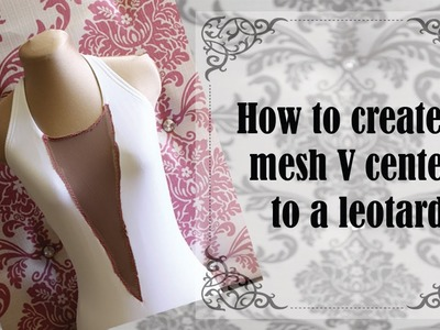 How To Create A Mesh V Center To  A Leotard