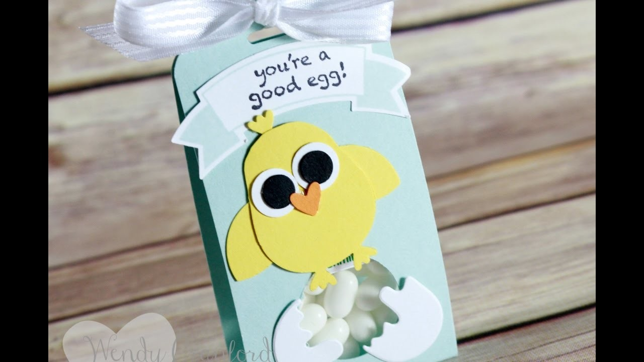 How To Create a Mini Tic Tac Easter Favor