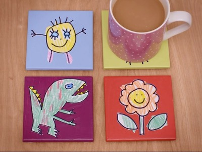How to Create Personalised Tile Coasters