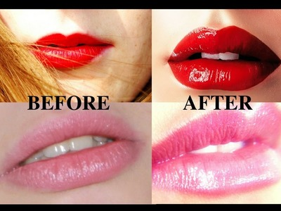 How To Get Bigger Lips!! Naturally With 2 Home Remedies !! No Lip Injections!! Instant Results