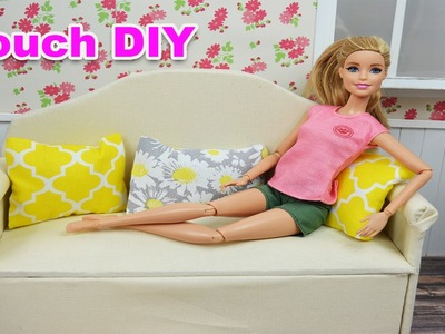 How To Make A Barbie Couch!   Barbie Really Talks! - Barbie Videos