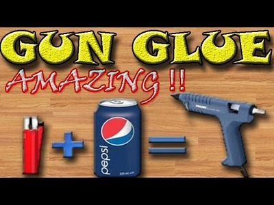 How To make A Hot Glue Gun Simple things ( Life Hacks )