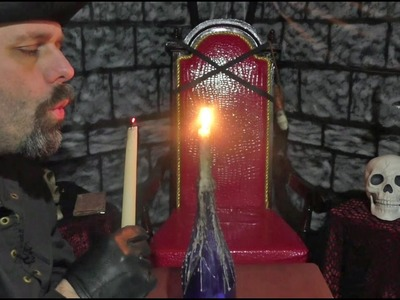How To Make A Melted Candle Bottle Prop For Larp