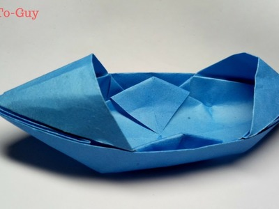 How To Make a Paper Boat - Origami Paper Boat That Floats - Best Paper Boat!