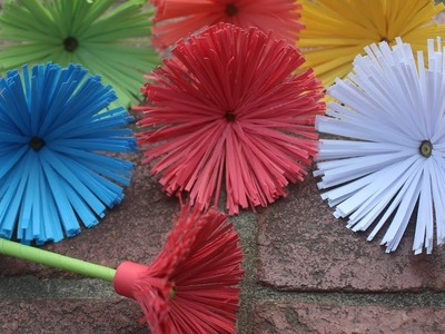 How to make    a paper flower    origami