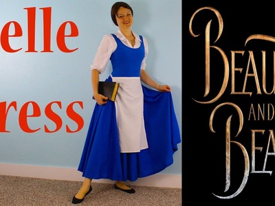 How To Make A Peasant Belle Blue Dress! Beauty And The Beast Costume!