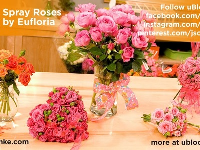 How to make a Pomander Ball out of Spray Roses!