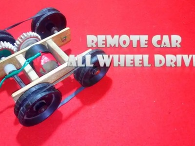 How to make a  remote control car ,very easy
