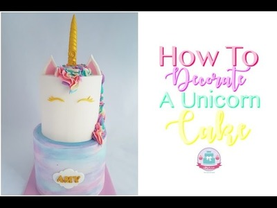 HOW TO MAKE A UNICORN CAKE   Abbyliciousz The Cake Boutique
