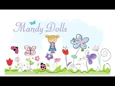 How to make a waldorf doll and waldorf doll wig making tutorial video.