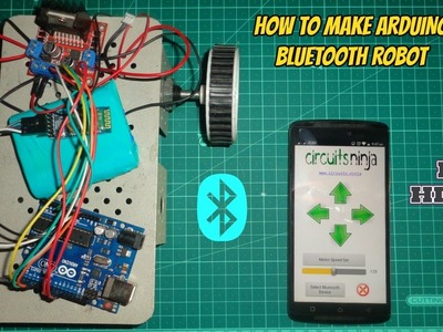How TO MAKE BLUETOOTH ROBOT CAR USING ARDUINO || [HINDI]