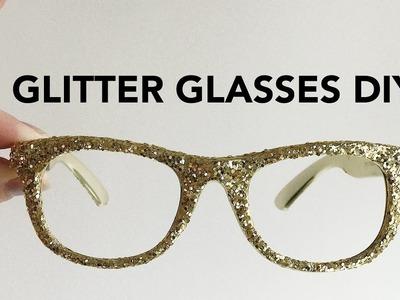How To Make Glitter Glasses