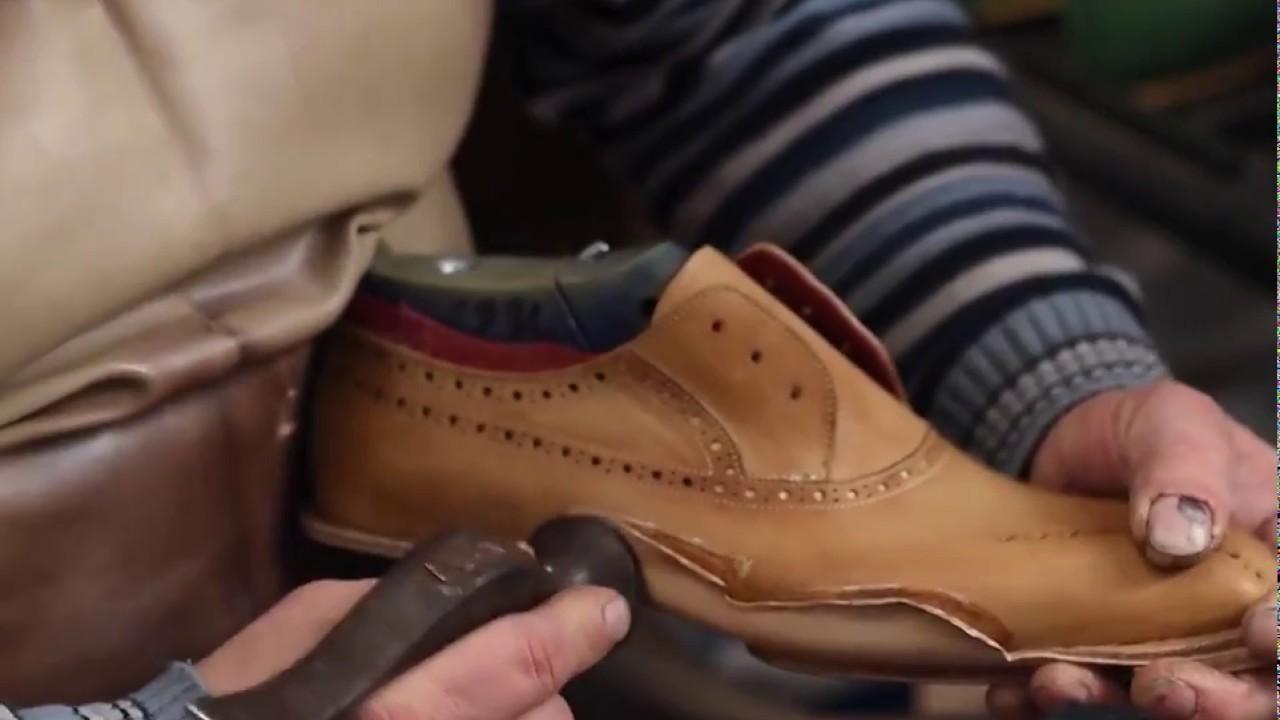 How to make handmade designer shoes.