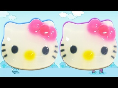 How to Make Hello Kitty Jelly Cake | How To Jelly